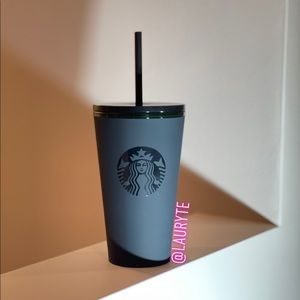 Starbucks 2020 Black Matte Soft Touch Tumbler